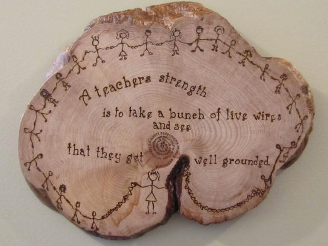Special order - Teacher Plaque