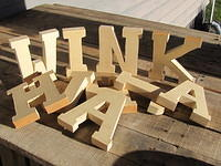 Perdonalized Wooden Letters